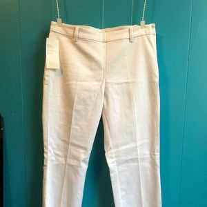 White work pants - no front pockets